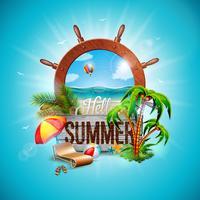 Sommerferien Verkauf vektor