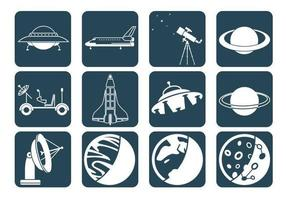 Weltraum-Vektor-Pack