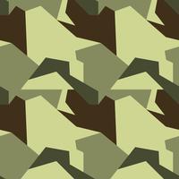 Camouflage mönster. Seamless. Militär bakgrund. Soldaten Camou vektor