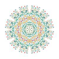 Vektor-Mandalaillustrationsdesign