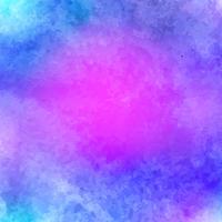 Blaues rosa weißes Aquarell helles Vektorpapier-Beschaffenheit backgroun