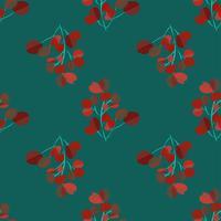 Ljus modern bakgrund med djungelbladen. Exotiskt mönster med palmblad. Vektor illustration