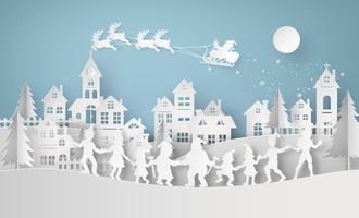 Illustration av god jul och gott nytt år