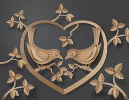 fågel i kärlek