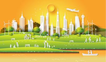 Konzept der umweltfreundlichen
