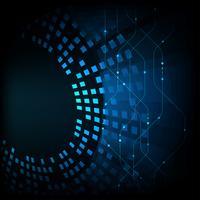 Abstrakter Technologiehintergrund vektor