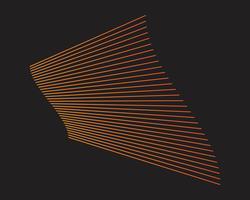 Modernes buntes Flussplakat. Flüssige Form der Welle im blauen Farbhintergrund. Kunstdesign für Ihr Designprojekt. Vektor-illustration
