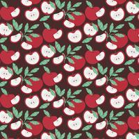 Vektor Apple Seamless Pattern