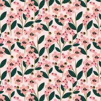 Vektor Blumenmuster Design