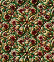 Thailändsk traditionell etnisk konst abstrakt