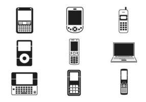 mobiles gerät vektor pack