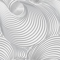 Abstrakter Schwarzweiss-Hintergrund und nahtloses Muster auf Vektorkunst. vektor