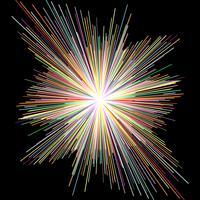 Zerstreuungsfarbstreifen, abstrakter Hintergrund. vektor