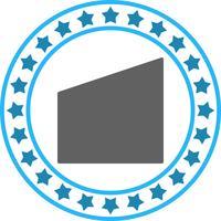 Vektor geometrische Form-Symbol