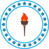 Vektor-olympische Feuer-Symbol