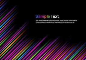 Fet Stripes Vector Bakgrund