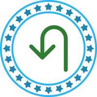 Vektor-Wende-Symbol