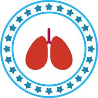 ikon för vektor lungor
