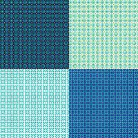sömlösa små geometriska mönster vektor