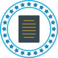 Vektordokumenten-Symbol