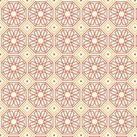Retro geometriskt mönster