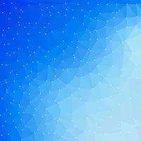 blå teknik digital bakgrund med trekantiga former