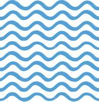 Abstraktes nahtloses Muster der Welle. Stilvoller geometrischer Hintergrund. Wa vektor