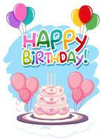Alles Gute zum Geburtstag Kartenvorlage