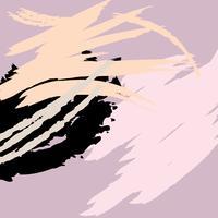 Konstnärlig abstrakt kreativ färgstark bakgrund vektor