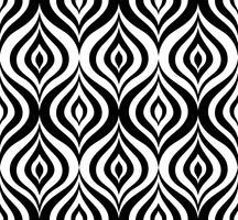 Abstrakt sömlöst mönster Blommig orientalisk geometrisk linje prydnad