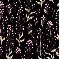 Nahtlose Blümchenmuster. Blumen Hintergrund. Tapete mit Blumen blühen.