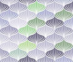 Abstrakt sömlöst mönster Blommig orientalisk geometrisk linje prydnad vektor