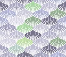 Abstraktes nahtloses Muster Orientalische geometrische mit Blumenlinie Verzierung vektor