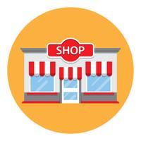 retro stil livsmedelsbutik