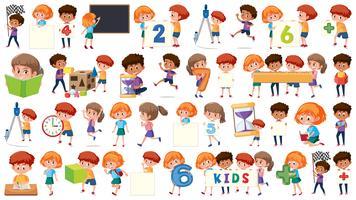 Satz des Kindercharakters vektor