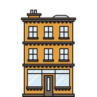 Haus mit Bar oder Laden