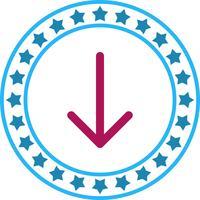 vektor nedladdning ikon