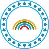 Vektor-Regenbogen-Symbol