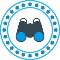 Vektor Fernglas-Symbol