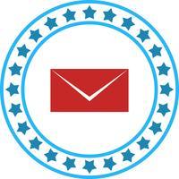 Vektor-Mail-Symbol vektor