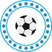 Vektor-Fußball-Ikone