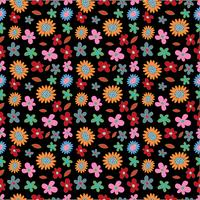 Blumen Frühling nahtlose Hintergrundmuster