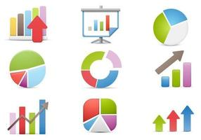 Charts und Business Vector Icon Pack