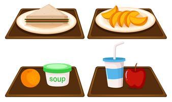 Set Frühstück Mahlzeit