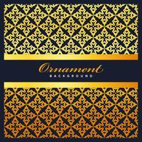 Arabiska geometriska mönster för bannerbakgrund