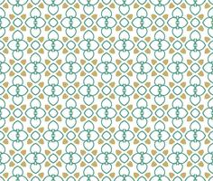 Nahtloser Musterhintergrund der abstrakten Verzierung. vektor