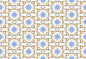 Ornament Dekoration nahtlose Hintergrundmuster vektor