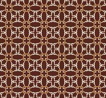 Arabisches nahtloses Verzierungsmuster. Dekoratives dekoratives Muster vektor