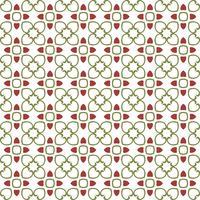 Floral Tiles Seamless Vector Pattern.flower Geometrisk struktur pa