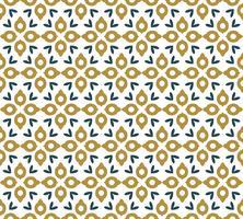 Nahtloses abstraktes Blumenmuster. Symmetrie modernen Stil vektor